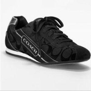 Coach Hilary signature C black sneakers size 10
